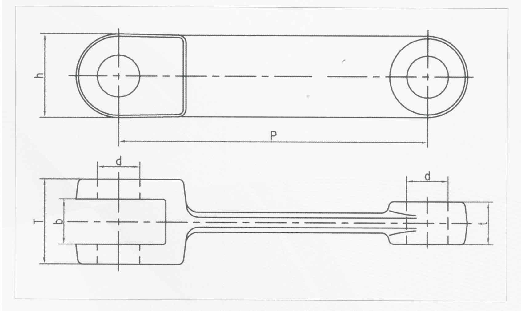 模锻链 GB10596.1-10596.3-89