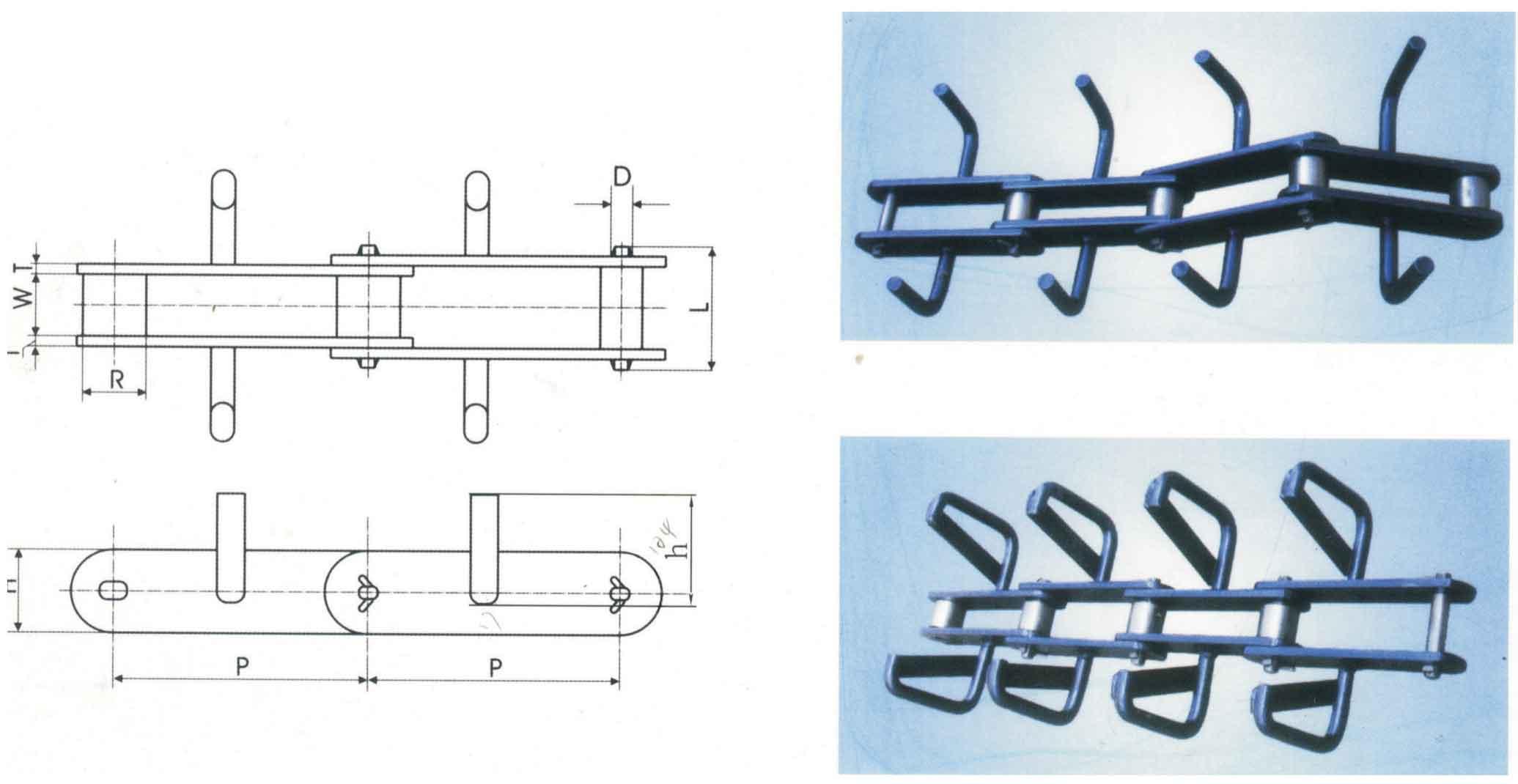 建材机械设备用链条(FU型)